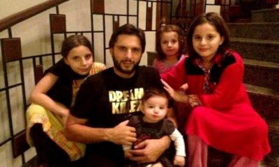 Shahid Afridi becomes father for 5th baby girl