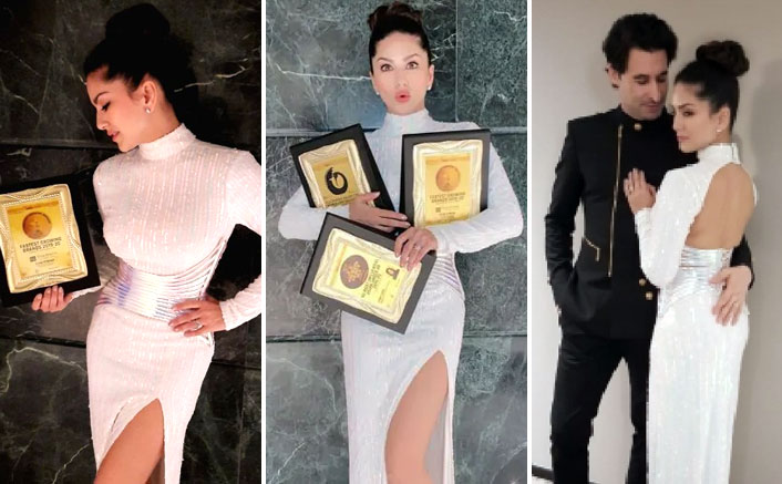 Sunny Leone Honoured With 3 Awards At 13th Asian Business & Social Forum in Thailand