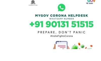 Coronavirus: How to Use WhatsApp helpline Number and Email ID