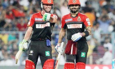 AB De Villiers reveals his first impression of Virat Kohli
