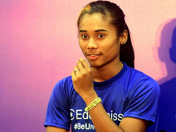 Indian Sprinter Hima Das picks CSK as her favourite IPL team- I Like because of Dhoni Bhaiya
