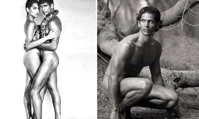Milind Soman Shares Controversial Ad With then-girlfriend Madhu Sapre