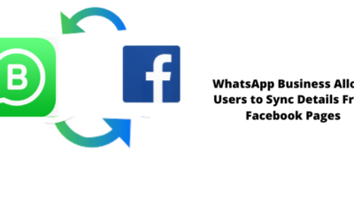 WhatsApp Business users can now sync details from Facebook pages