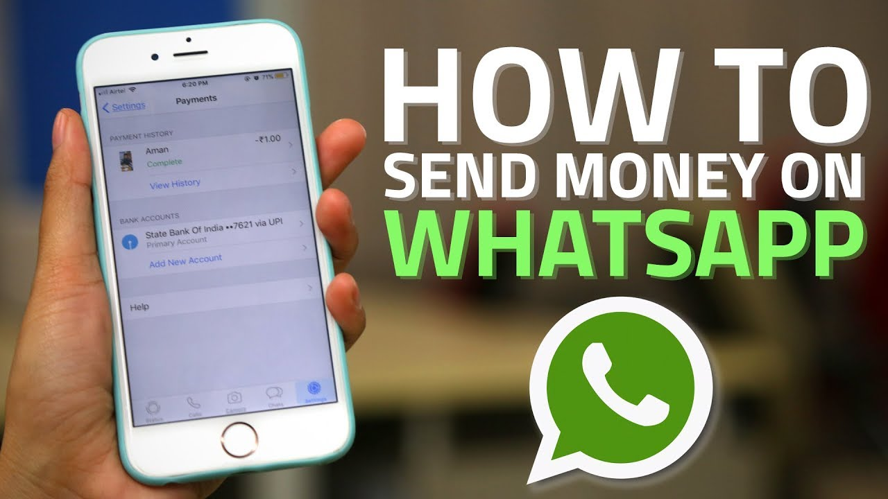 How to Link Bank accounts, Edit, send and receive money from WhatsApp Payments
