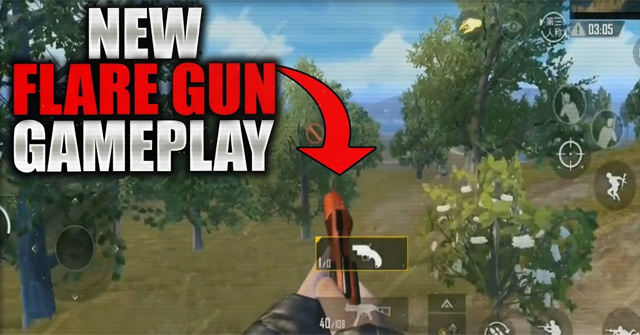PUBG Mobile Flare Gun: How to use in-game