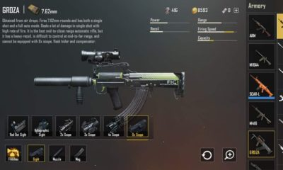 Highest damage assault rifle in PUBG Mobile?
