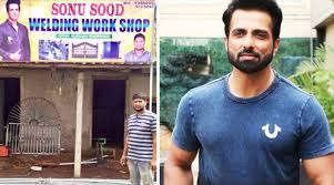 Migrant Rescued by Sonu Sood during lockdown names shop after actor in Hometown