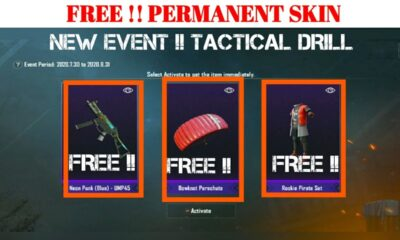 PUBG Mobile: Here's how you can get free items from Tactical Drill Event