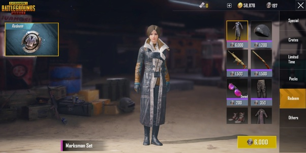 PUBG Mobile Tips: How to get Clothes