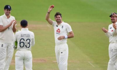 James Anderson becomes the first pacer to take 600 wickets in Tests
