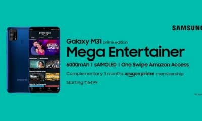 Samsung Galaxy M31 Prime Edition available in Amazon at Rs 16,499