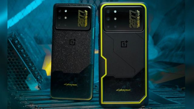 OnePlus 8T Cyberpunk 2077 Limited Edition launched