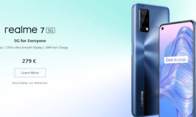 Realme 7 5G variant announced with Dimensity 800U processor
