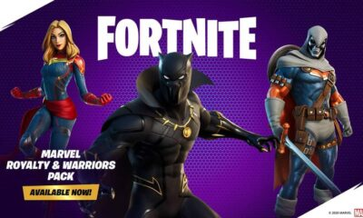 Black Panther, Captain Marvel are now available in Fortnite