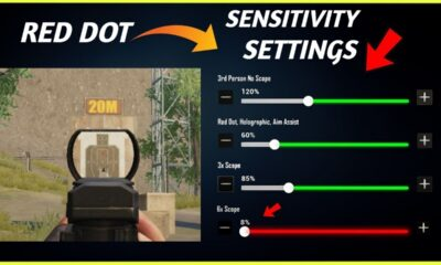 PUBG: Best Red Dot Sensibity PUBG Mobile and Pro Tips for No Recoil Spray