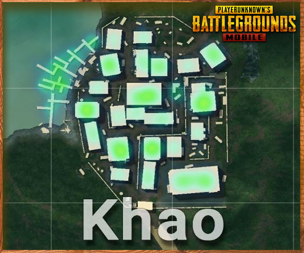 PUBG Mobile KHAO Complete Details: Good Loot location with Under-rated?
