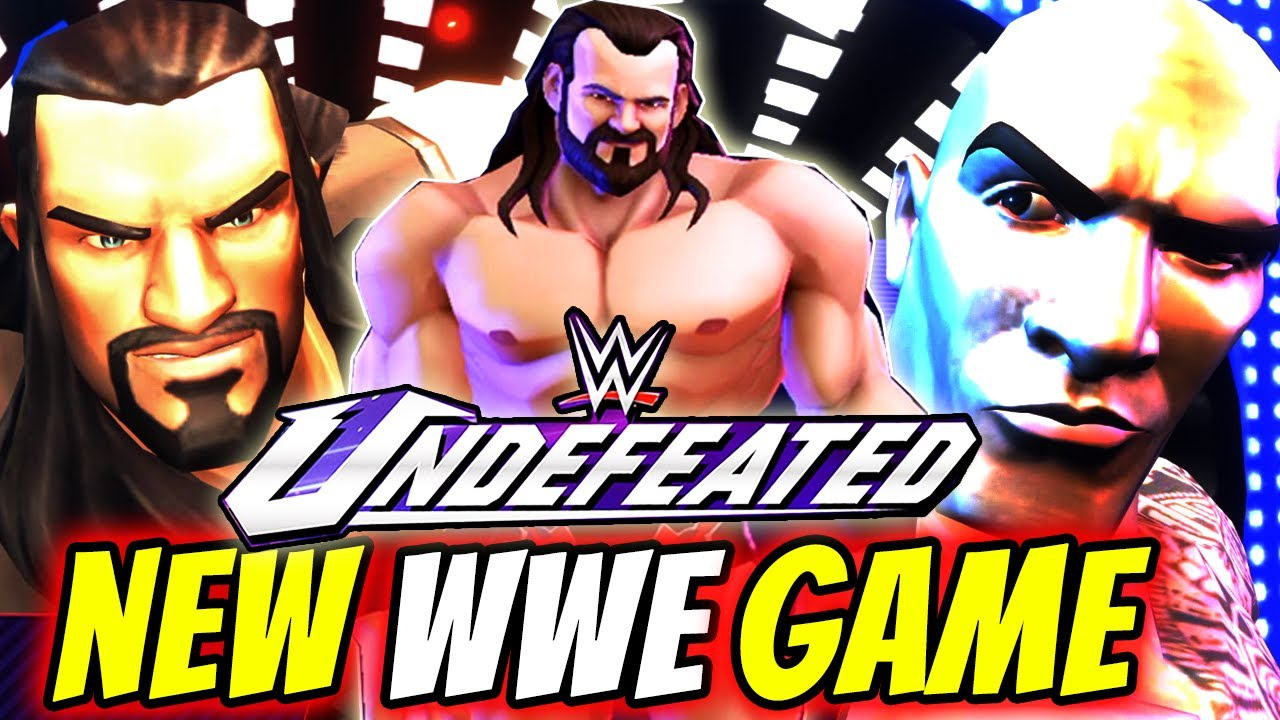 WWE Undefeated Mobile Game is available in Android and iOS