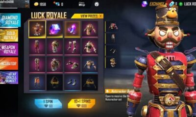 The New Mr. Nutcracker Diamond Royale Bundle