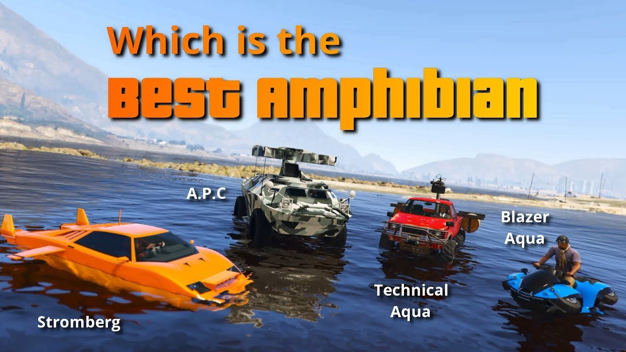 Top 5 Amphibious Vehicles In GTA Online