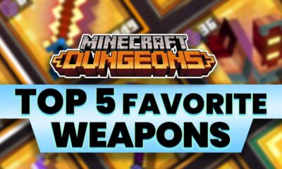 Top 5 Best Weapons In Minecraft In 2021
