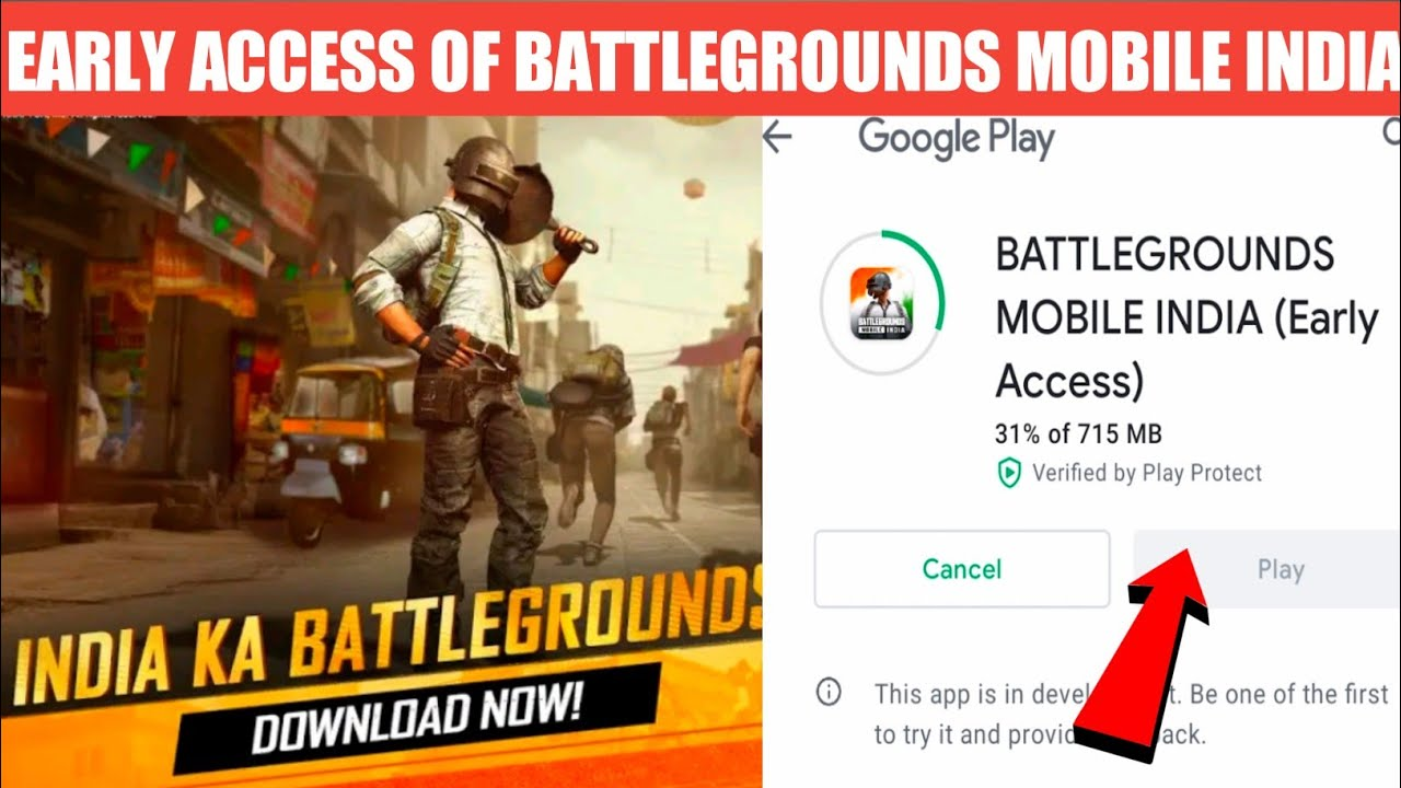How to get BGMI Early Access from Official Battleground Mobile India website