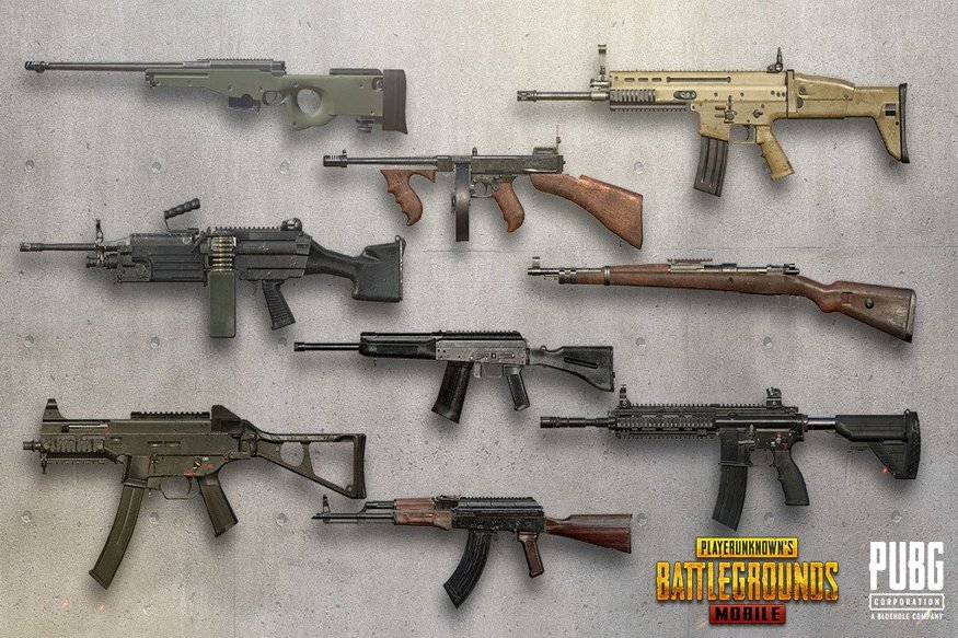 PUBG Mobile Top 10 Worst Weapons in 2021