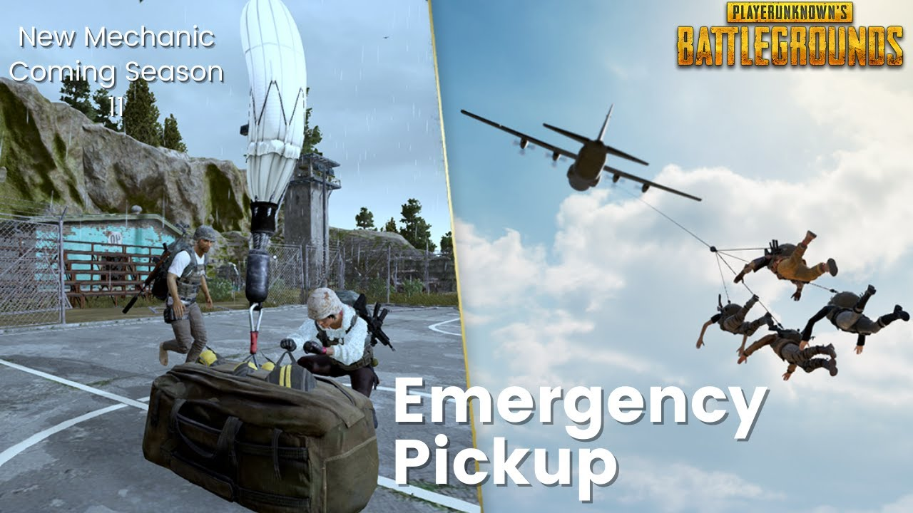 BGMI & PUBG Mobile to introduce Emergency Pickup/Plane Pick-up feature: Check Details