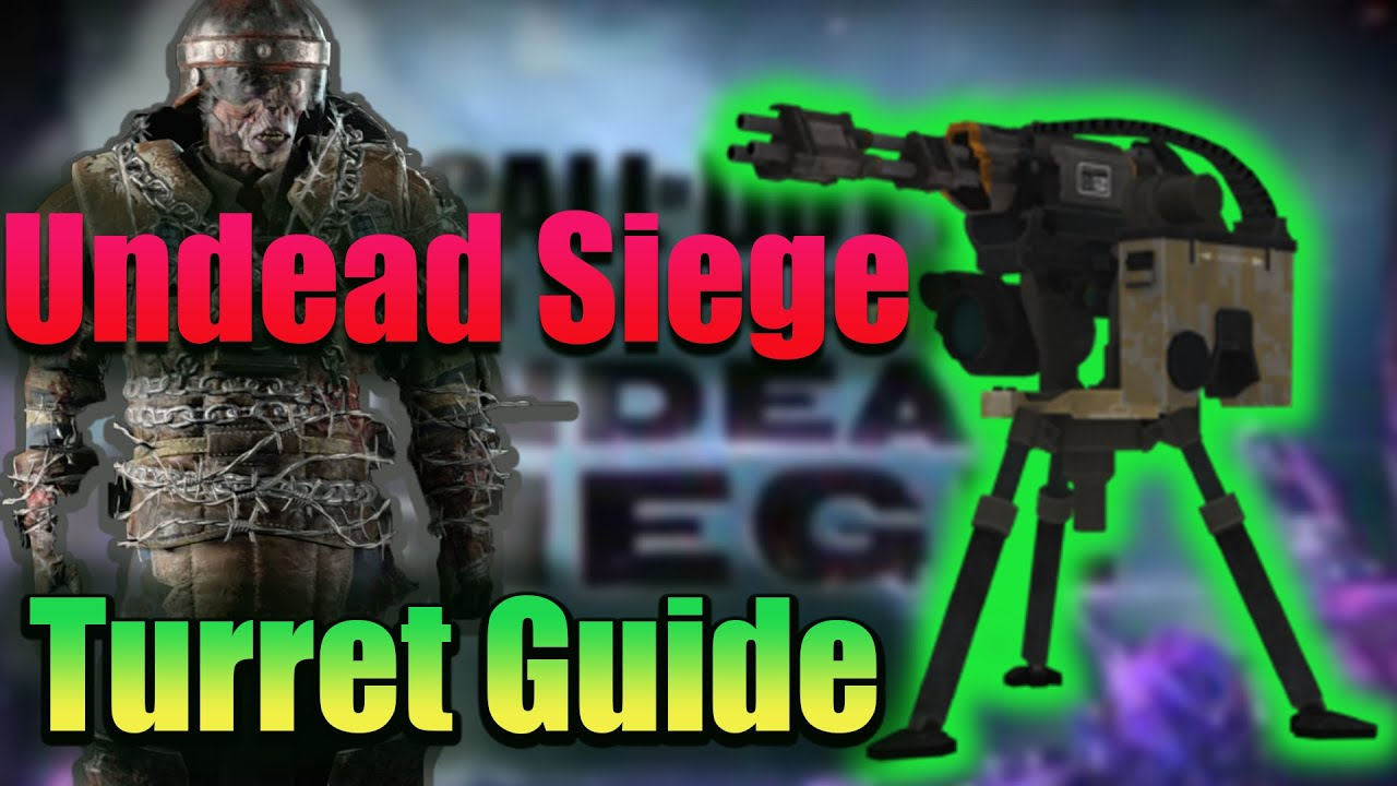 COD Mobile Undead Siege: How to make every Turret in Zombie mode