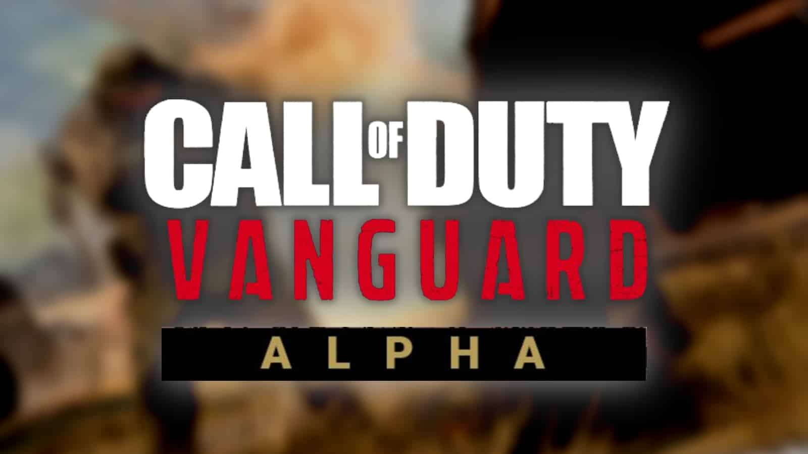 How to play COD Vanguard Playstation Alpha: Dates, Download, More