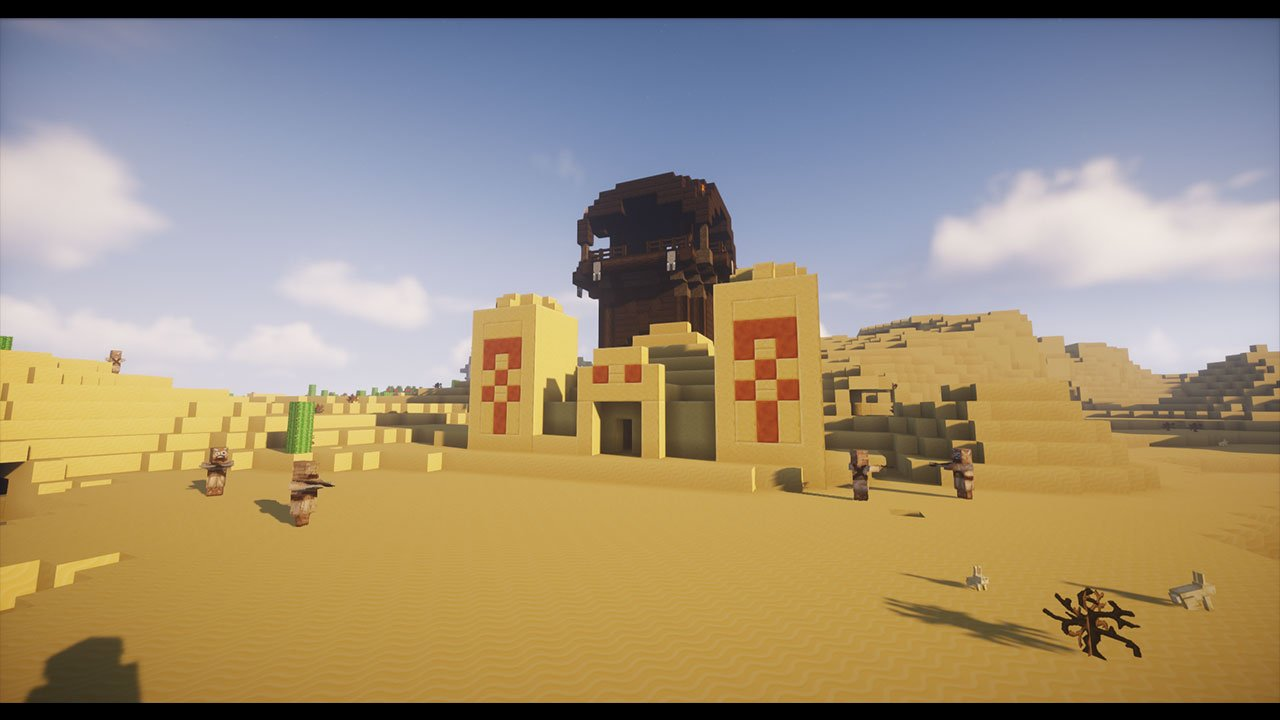 Minecraft: How to find and loot the desert pyramid