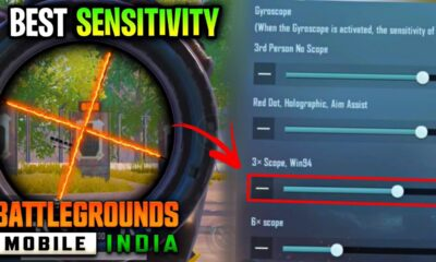 Best Sprint Sensitivity for the 1st & 3rd Control Loadout in BGMI