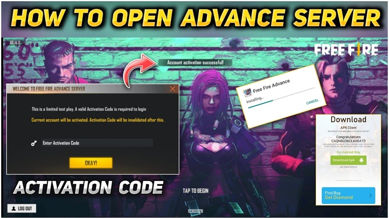 Free Fire: How to get Free Fire advance Server access for OB30 version update