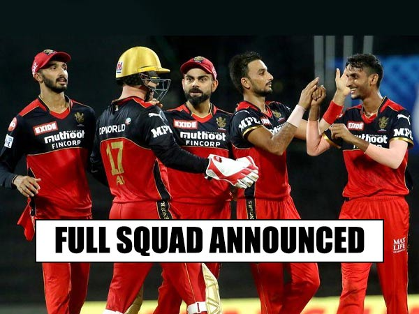 IPL 2021 Phase 2: How many changes have RCB made their squad for IPL 2021 UAE leg